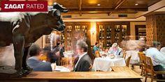 $115 -- Bobby Van's Steak Dinner for 2 w/Wine, 40% Off