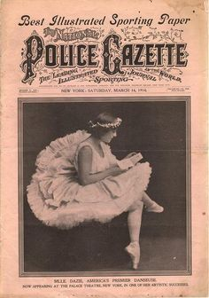 The National Police Gazette March 14 1914