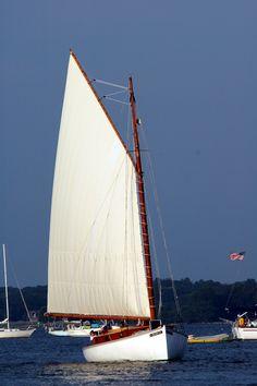 Full Sails Up! aboard Sail Selina II, St Michaels MD, Chesapeake Bay
