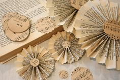 scripted paper scrapbooking ideas