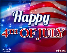 Happy Independence Day, America! Wishing everyone a Safe and Happy Holiday Weekend!