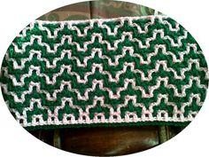 WIP - Interlocking crochet
