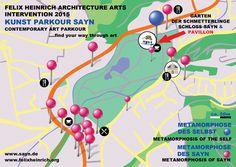 Garten der Schmetterlinge in Bendorf, Rheinland-Pfalz Kunstparkour Sayn felixheinrich.org sayn.de Parkour, Art Intervention, Architecture Art, Contemporary Art, Finding Yourself, Germany, Projects, Butterfly House, Rhineland Palatinate