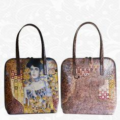 Motív: Gustav Klimt – Adele Bloch-bauer  http://www.vegalm.sk/produkt/rucne-malovana-kabelka-c-116/