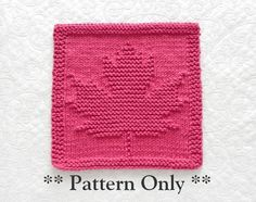 This MAPLE LEAF knitting pattern is a fun, quick project for DIYers. Add some pretty color to your kitchen or bath this Fall / Thanksgiving using these as dishcloths or washcloths. They also make great hostess gifts. Original Design by Aunt Susan!