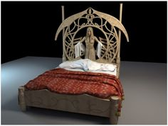 3d Lord of the Rings Rivendel bed