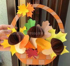 Kindergarten Art, Preschool, Mobile Craft, Paper Animals, Fall Decor, Crafts For Kids, Autumn, Techno, Ornaments