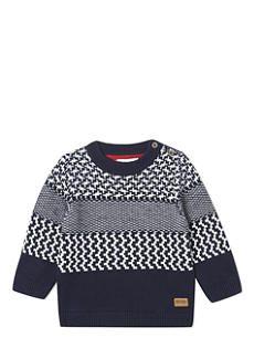 HUGO BOSS Fairisle knitted pullover 6-36 months