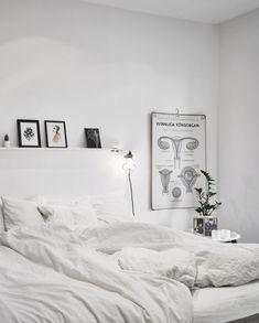 Winter Wonderland: 37 White On White Home Decor Ideas | DigsDigs