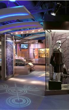 """Need an adventurous field trip? Book a school group visit to the International Spy Museum """"School for Spies"""" Gallery (DC mall)"""