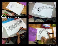 Kindergarten Hugs: Caterpillars and Butterflies in the Garden!