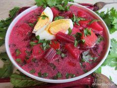 Polish Recipes, Polish Food, Soups And Stews, Soup Recipes, Watermelon, Salsa, Food And Drink, Veggies, Fruit