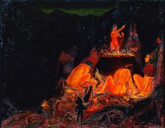 Paul Ranson - Witches in Saturnalia, 1891