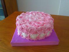 Tartas Personalizadas de Camelia                 : Tarta Rosas Rosa