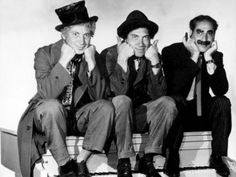 Marx Brothers - Harpo Marx, Chico Marx by Everett Harpo Marx, Groucho Marx, Great Comedies, Classic Comedies, Classic Movies, Hollywood Stars, Classic Hollywood, Old Hollywood, Brothers Movie