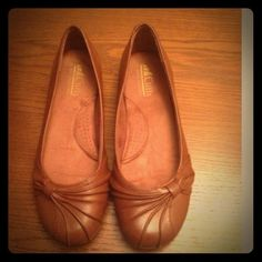 Cliffs  brown flats. Worn once. Cliffs brown flat shoe. Worn once. Very comfortable! Shoes Flats & Loafers