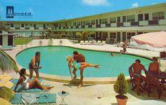Monaco Luxury Resort Motel - Miami Beach, Florida by The Pie Shops Collection, via Flickr