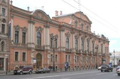 The Home of Serge and Ella as it is today. Beloselsky-Belozersky Palace   .... St. Petersburg