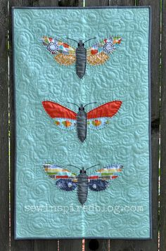 Modern Quilt Guild Challenge Quilt--Entomology - at Sew Inspired