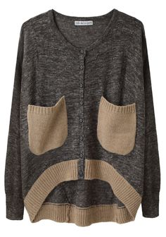 So I wouldn't even care if I looked like a frumpster....I love this sweater!