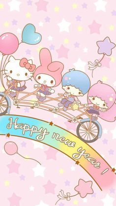 happy new year cute lockscreens happy new year wallpaper papo cute art