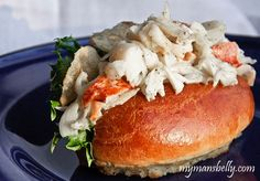 Maine Lobster Roll uses Fresh Green Goddess Dressing