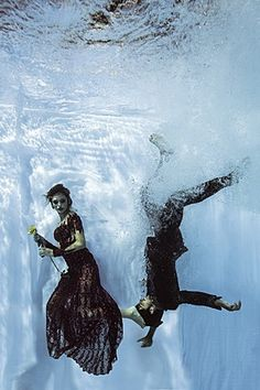 Debaixo d´água, o balé dos atores (Foto: Neto Fernandez / Divulgação)