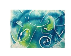 Colors of Serenity by Tania on Etsy