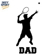 Tennis Mom with Dual Tennis Racquets Crossed Vinyl Sports Car Decal Sticker