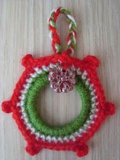 Christmas Wreath Ring Ornament