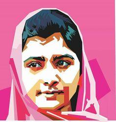 #malala illustration