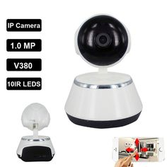 V380 IP Camera 720P WiFi Wireless IP Camera CCTV Security Camera Two Way Audio Baby Monitor Easy Connect #Affiliate