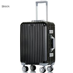 """20""""24"""" carry-on 100% Aluminum Made with a One Piece Mold Design TSA lock trolley bags suitcase luggage travel bag"""