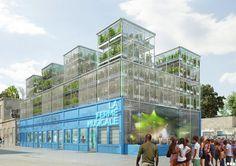 La Ferme Musicale is a Vertical Farm, Music Venue & Educational Center for Bordeaux   Inhabitat - Green Design, Innovation, Architecture, Green Building