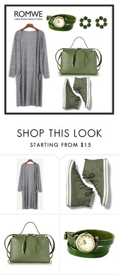 """grey-green"" by brzina ❤ liked on Polyvore featuring Keds, Jil Sander and Les Néréides"