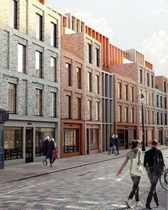 WEBSTA @ architectanddesign - @studiokyson reveal their plans for an 80-room boutique hotel in Lower Marsh, London. Replacing a post-war development their scheme seeks to reinstate historic building plots. The irregular language of individual façades overlay the ordered and subtle articulation beneath creating a building that is perceived as one and many. #residentialarchitecture