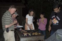 We have two BBQ's Toronto Island, Summer Rain, Picnic Table, Sailing, Patio, Club, Ethnic Recipes, Candle, Terrace
