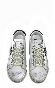 I Conic Sneakers with Studs by Leather Crown