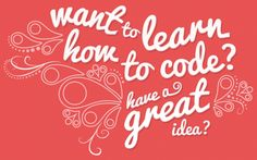 Learning to code? Want to learn in a creative and personal way? To get you started let's begin with the groundwork of HTML. We've rounded up resources, tools, and DIY's to get schooled online even from the comfort of your favorite chair.  HTML: Think of HTML as your canvas, a bare bones, outline of structure and information. HTML stands for, HyperText Markup Language (HTML.) It is the main markup language for displaying web pages and other information that can be displayed in a web browser.