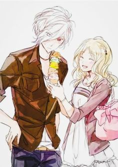 Image discovered by Find images and videos about anime, diabolik lovers and yui on We Heart It - the app to get lost in what you love. Cute Anime Boy, Anime Love, Manga Boy, Anime Manga, Diabolik Lovers Wallpaper, Manga Couple, Anime Kiss, Wattpad, Mystic Messenger