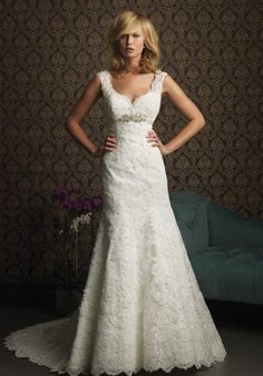 feminine, vintage wedding dress.