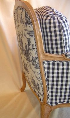 Photo of Michael's Custom Built Upholstery - San Rafael, CA, United States. Bergere chair detail