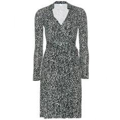 Diane von Furstenberg New Jeanne Two Wrap Dress ($533) ❤ liked on Polyvore