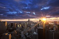 Photograph sunset in New York by Jim Su on 500px
