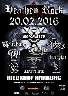 delirious dark: HeathenRock Festival - KRYPTONITE und viele mehr.....