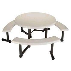 Banana Nut Muffin Trels Table Pinterest - White vinyl picnic table