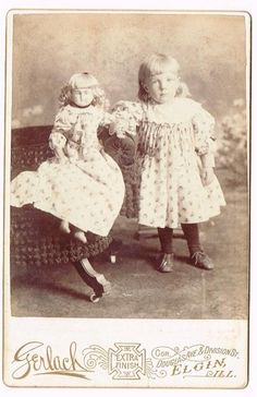 Little Girl Doll Dressed Same Elgin Illinois | eBay