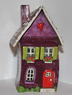 Clay House Heart Home
