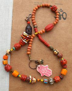 Varanasi++Necklace+por+beadsnbones+en+Etsy,+$110,00