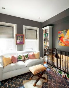 namesake design: A Sophisticated Nursery